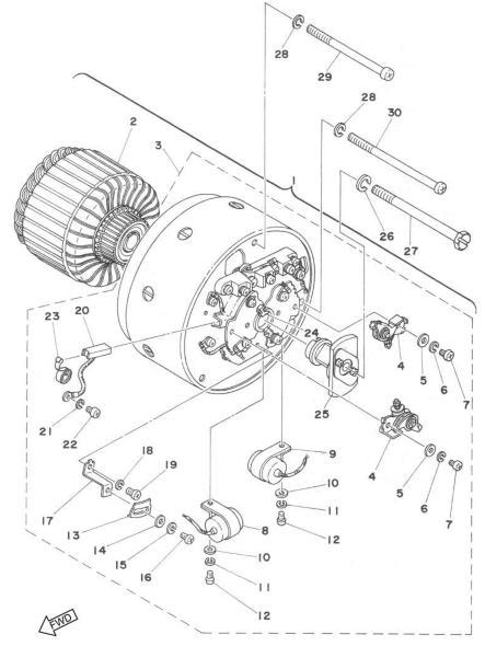 74 Rd 200 Wiring Diagram Servicemanuals Motorcycle How To And Repair